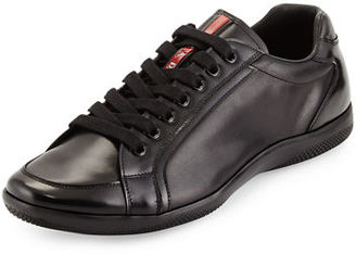 Prada Offshore Leather Sneaker $790 thestylecure.com
