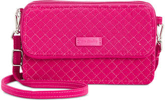 Vera Bradley Iconic Rfid Mini All in One Crossbody