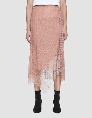 3.1 Phillip Lim Lace Patchwork Skirt