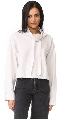 DKNY Pure DKNY Cowl Neck Top $298 thestylecure.com