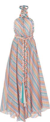 Leal Daccarett Ravello Silk-Taffeta Dress Size: 0