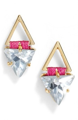 Women's Rebecca Minkoff Geo Stud Earrings $48 thestylecure.com