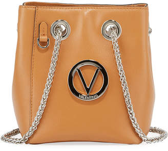 Mario Valentino Valentino By Babou Leather Chain-Strap Bucket Bag