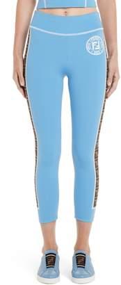 b8e794941f71 Fendi Pants With Logo - ShopStyle