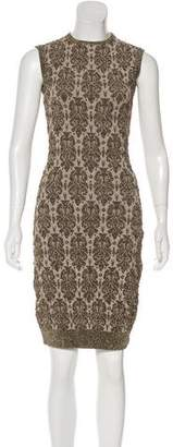 Lanvin Brocade Knee-Length Dress