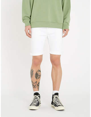 Replay RBJ 901 regular-fit tapered stretch-denim shorts