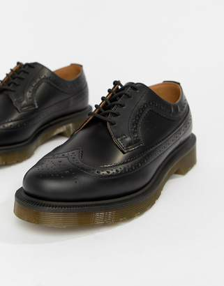Dr. Martens 3989 Black Stacked Brogues