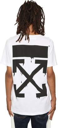 Off-White Slim Fit Bart Printed Jersey T-Shirt