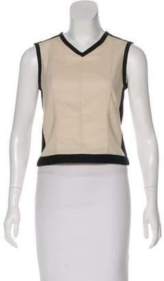 Narciso Rodriguez Sleeveless Wool Top