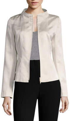 Lafayette 148 New York Silas Stand Collar Jacket