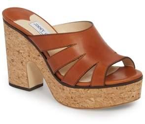 Jimmy Choo Dray Platform Slide Sandal