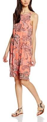 S'Oliver Premium Women's mit Paisleyprint Dress,(Size: 34)
