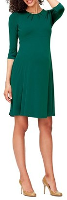 Women's Leota 'Simone' Empire Waist Jersey Maternity Dress $158 thestylecure.com