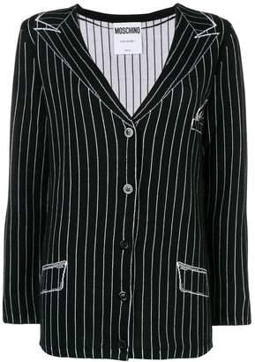 Moschino blazer knit cardigan