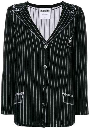 Moschino (モスキーノ) - Moschino blazer knit cardigan
