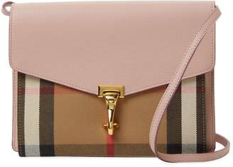 Burberry Women's House Check & Leather Small Crossbody
