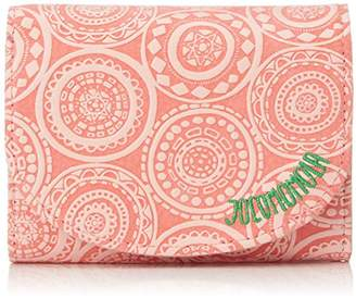 Jocomomola (ホコモモラ) - [ホコモモラ] 折財布 「アニージョ」中Lファスナー付折財布 5381400 32 ピンク