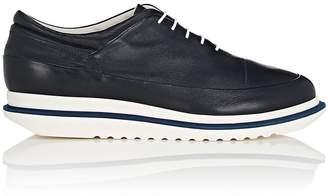 Emporio Armani Men's Leather Platform Balmorals