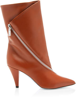 Givenchy Show Zip Leather Ankle Boot