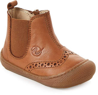 Naturino Toddler Boys) Brown Nappa Leather Spazz Marrone Boots