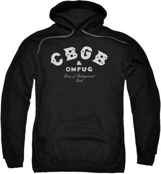 CBGB Trevco Classic Logo - Adult Pull-Over Hoodie - , Extra Large