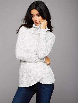 A Pea in the Pod Pull Over Cowl Nursing Top
