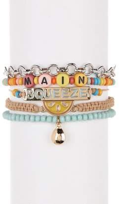 Free Press Main Squeeze Bracelet Gift Box - Set of 5