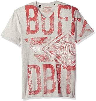 Buffalo David Bitton Men's Tand Short Sleeve Fashion Graphic T-Shirt