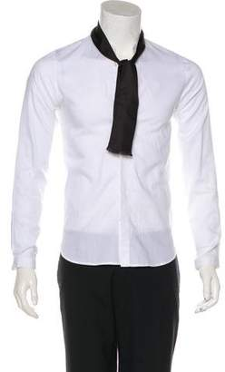 The Kooples Woven Button-Up Shirt