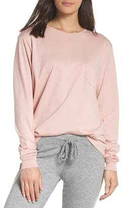 Richer Poorer Long Sleeve Pocket Tee