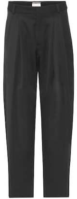 Saint Laurent Wool high-waisted trousers