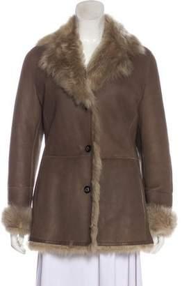 Salvatore Ferragamo Shearling Short Jacket