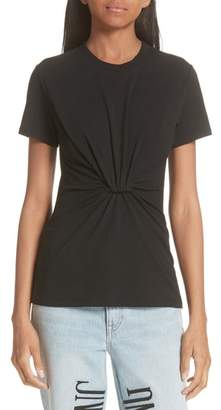 Alexander Wang High Twist Jersey Tee