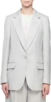 Stella McCartney Linen Single-Breasted Blazer