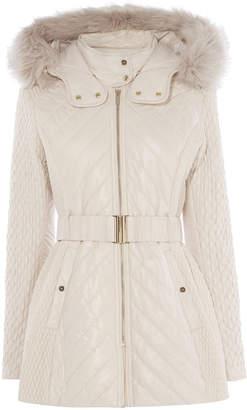 Karen Millen Quilted Coat