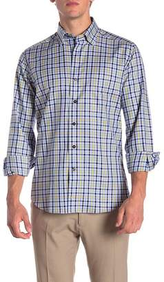 David Donahue Sport Casual Fit Checkered Shirt