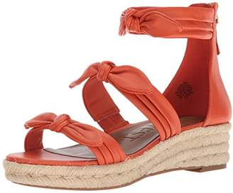 014ff6a4689 Nine West Women s Allegro Leather Wedge Sandal