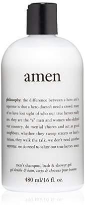 philosophy for men Amen Men's Shower Gel