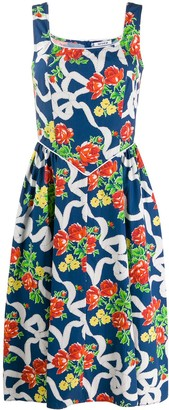 Batsheva floral day dress