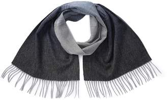 Stewart Of Scotland Gradient Stripe Cashmere Scarf