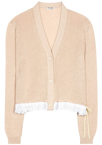 Miu Miu Miu Miu Cotton cardigan