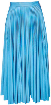 Maison Margiela Reflective Pleated Maxi Skirt