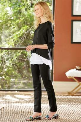 Soft Surroundings Phenomenal Fit Ankle Zip Pants