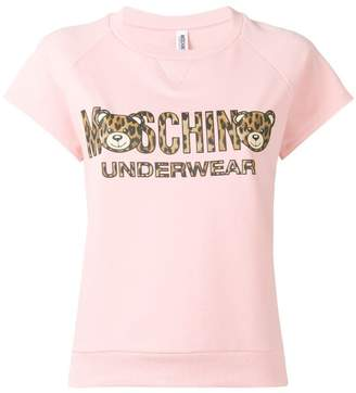 Moschino teddy logo pyjama T-shirt