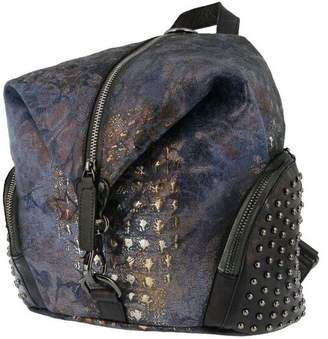 Spring Step L`Artiste by Canvas and Leather Backpack - Parker