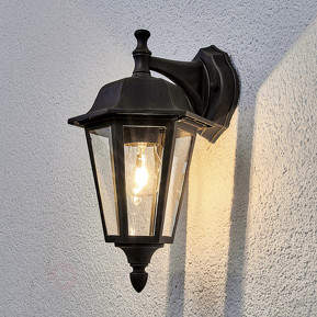Lamina - Außenwandlampe in Rostoptik