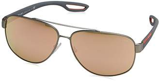 Prada SPORT Men's 0Ps58Qs Dg16Q2 Sunglasses