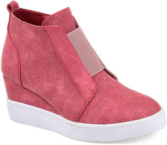 Journee Collection Clara Wedge Sneaker - Women's
