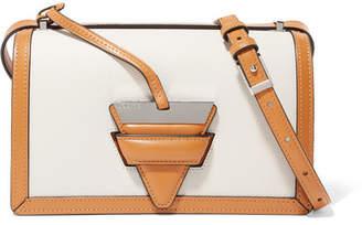 Barcelona Textured-leather Shoulder Bag - Tan