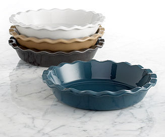 """Emile Henry Natural Chic 9"""" Pie Dish"""